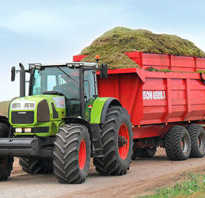 Виды прицепов для тракторов, их особенности