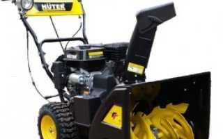 Huter (Хутер) снегоуборщик: электрический, бензиновый (цены, отзывы)