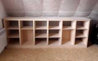 Как делаются полки из фанеры: варианты конструкций и пошаговые инструкции монтажа