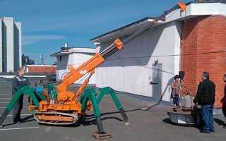 Мини-кран: своими руками, с лебедкой, строительные, Грач 900, Jekko, самоходный, 500 кг, для гаража (гаражный), электрический, Маеда