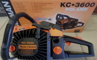 Бензопила Kaltman KC-3600: металл отзывы, Германия, технические характеристики, цены