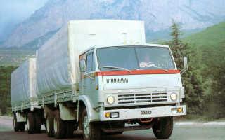 КамАЗ-53212: технические характеристики, грузоподъемность, расход топлива, ТТХ, зерновоз, военный, контейнеровоз, манипулятор, габариты, бортовой, Элекон, самосвал, сельхозник, с прицепом