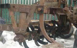 Культиваторы на мини-трактор и их виды
