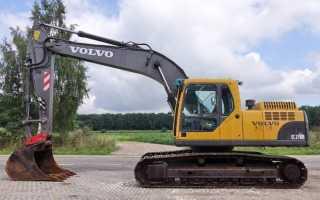 Экскаватор Вольво (Volvo): погрузчик, запчасти, 210, 360, технические характеристики, 240, ширина копания, цена, отзывы владельцев