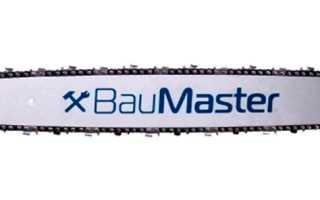 Бензопила Баумастер (Baumaster): GC 99376X, 99502X, регулировка карбюратора, отзывы, цены