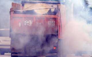 Камаз дымит белым дымом — Причины и последствия. Топтехник.ру