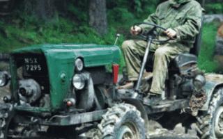 Трактор из Жигулей своими руками: самодельный, двигателем ВАЗ, как сделать, минитрактор, чертежи