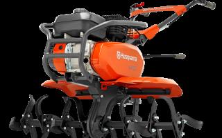 Мотоблок Хускварна (Husqvarna): TF-338, характеристики, отзывы, навесное оборудование