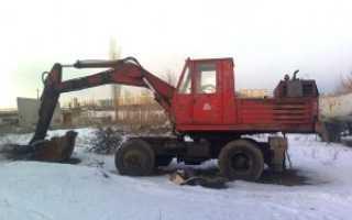 Экскаватор ЭО-3322: технические характеристики, одноковшовый, отзывы владельцев, вес, колесный