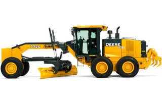 Грейдер Джон Дир (John Deere): 672G, 772G, 872G, автогрейдер, характеристики, цены