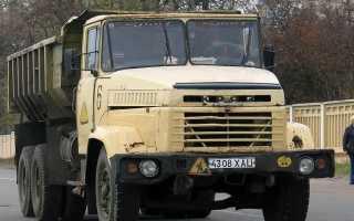 КрАЗ-6510 (самосвал): технические характеристики, цена, грузоподъемность, аналоги