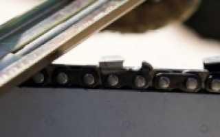Угол заточки цепи бензопилы. Как выбрать правильный?